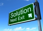 Solution-sign